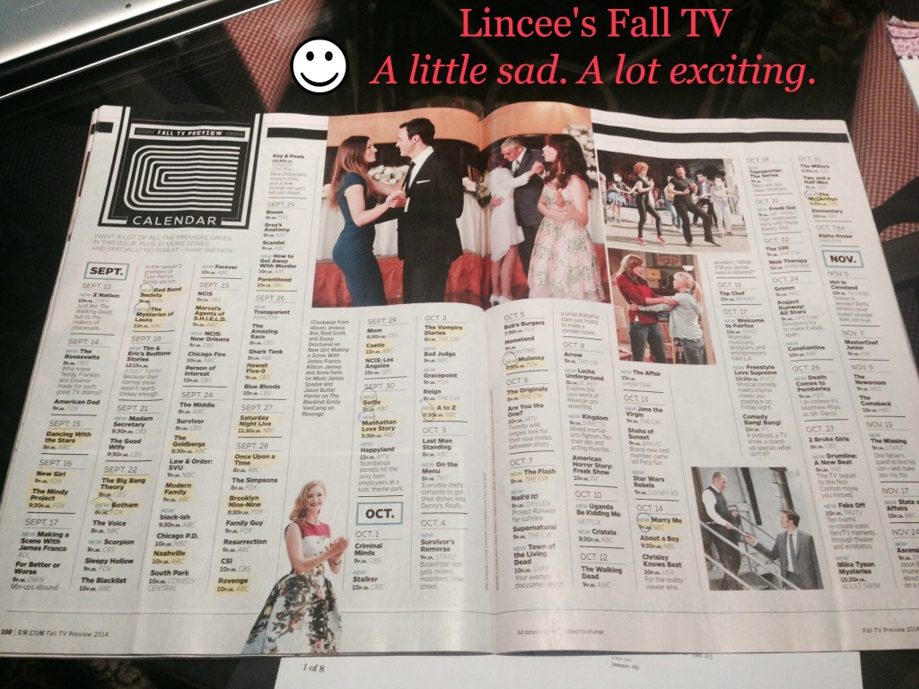 funny entertainment blog-Lincee's Fall TV