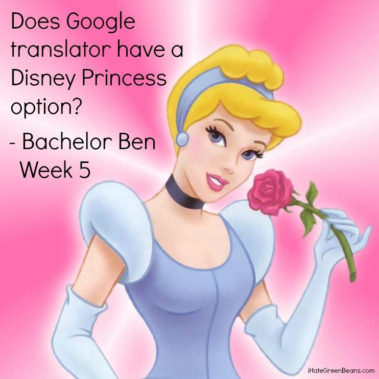 funny bachelor recap-Bachelor Ben Week 5